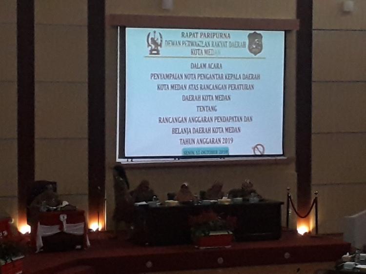 APBD Kota Medan Tahun 2019 Hanya Naik 0,02 Persen Dibanding APBD 2018