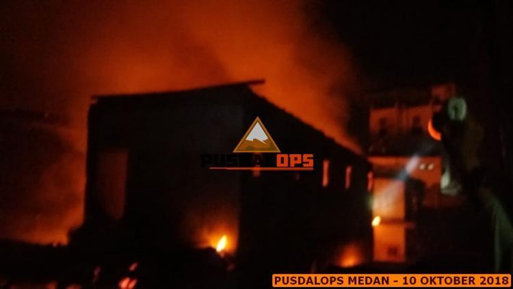 22 Unit Rumah di Mangkubumi Terbakar