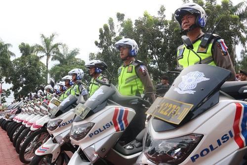 Walikota Medan Hadiri Apel Gelar Pasukan Operasi Zebra Toba 2018