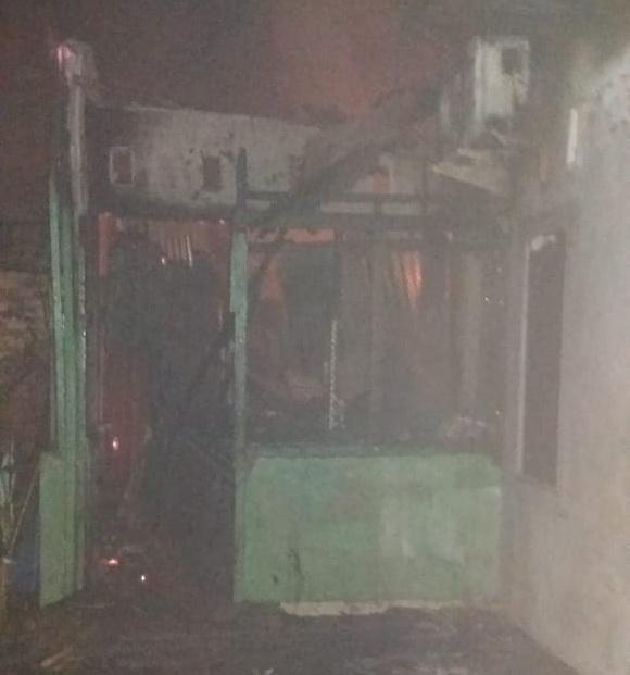 Tiga Unit Rumah di Sei Mati Terbakar, Satu Orang Meninggal