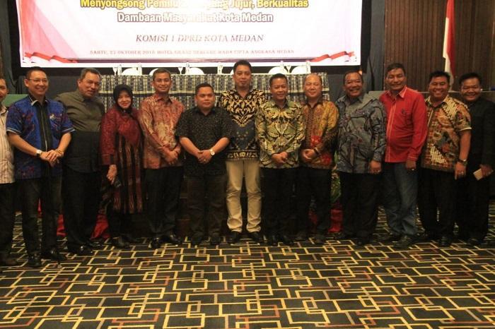 DPRD Medan Minta Hak Pilih Masyarakat Dijamin