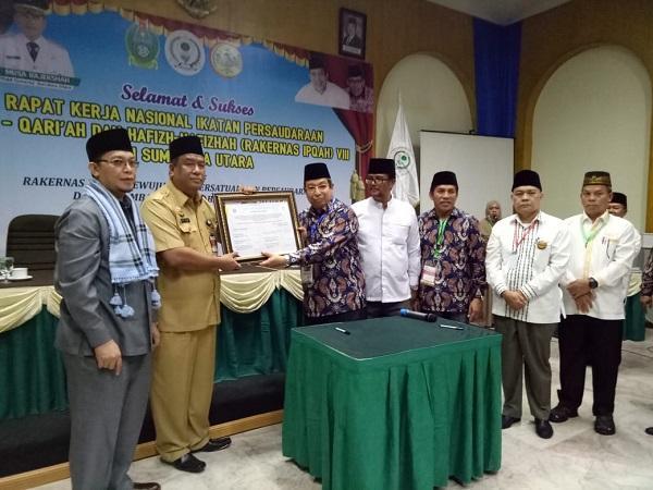 Gubsu Dukung Rencana Pendirian Sekolah Tinggi Ilmu Al-Quran