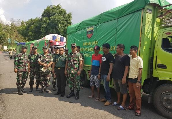 Kodam I/BB & Persit KCK PD I/BB Kembali Kirim 4 Truk Bantuan ke Palu-Donggala