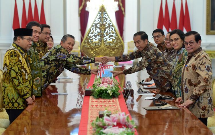 Pimpinan BPK Sampaikan 447 Temuan Berindikasi Pidana ke Presiden Jokowi