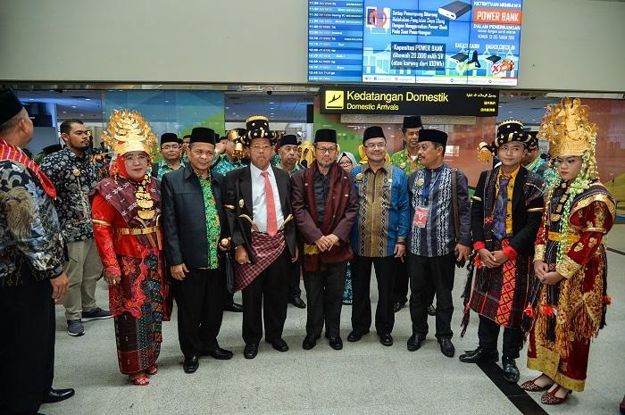 Seribuan Peserta MTQN XXVII dari Berbagai Provinsi Sudah Tiba di Sumut