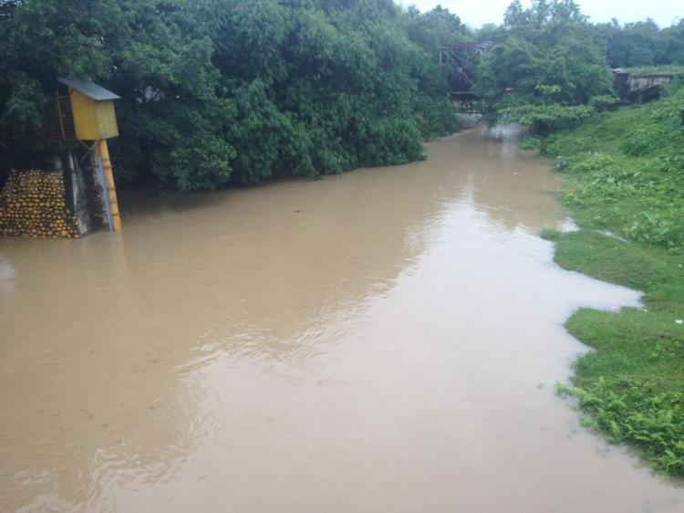 Debit Air Sungai Kembali Naik, Warga yang Bermukim di Bantaran Sungai Diimbau Waspada