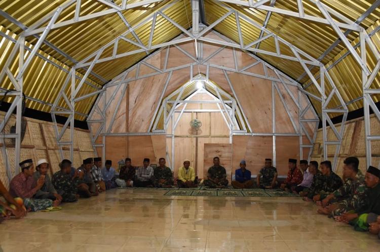 Masjid Hubbul Jihad di Lombok Utara Dapat Digunakan Kembali