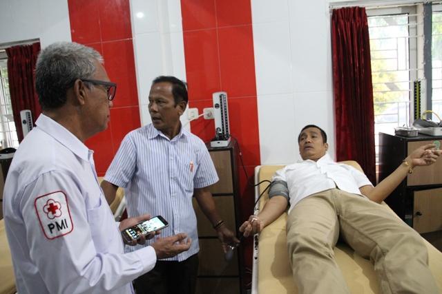 Wali Kota Pematangsiantar Ajak Warga Giatkan Donor Darah