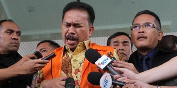 Lepas dari Sel Penjara Sukamiskin, Mantan Bupati Tapteng Bonaran Situmeang Masuk Sel Penjara di Malpodasu