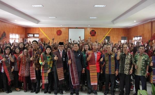 Tingkatkan Mutu dan Kwalitas Pendidikan, Bupati Samosir Launching Aplikasi e-BOS