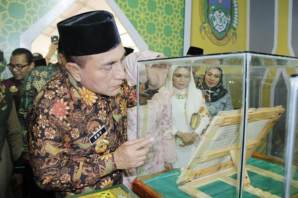 Pameran UKM dan Halal Food MTQN Resmi Dibuka, Mulai dari Busana Muslim Hingga Bakso Ada di Sini