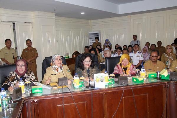 Sekdaprov Sumut Harapkan Evaluasi Program Pemberdayaan Perempuan Harus Berkesinambungan
