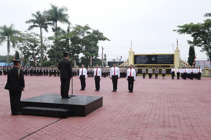 Upacara Hari Sumpah Pemuda, 59 Personel Poldasu Terima Penghargaan