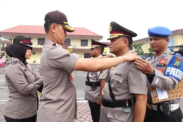 Kapolrestabes Medan Pimpin Sertijab Waka Polrestabes Medan