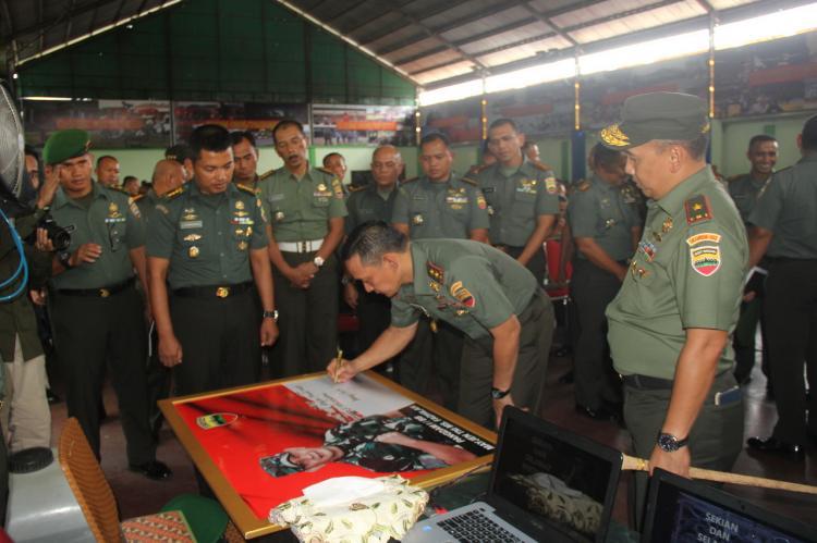 Pangdam I Bukit Barisan Kunjungan ke Wilayah Korem 032/WBR