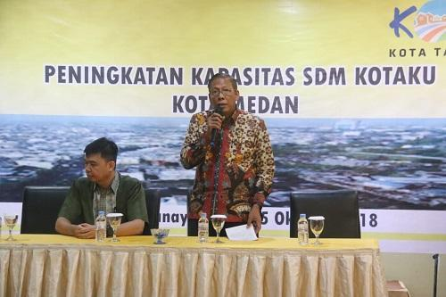 Pemko Medan Gelar Sosialisasi Peningkatan Kapasitas SDM Kotaku