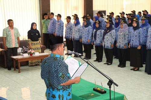 1200 ASN Pemko Medan Telah Ikuti Sumpah Janji di Gedung P4TK