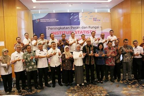 BPS Gelar Rapat Koordinasi Satu Data Indonesia (SDI) di Medan