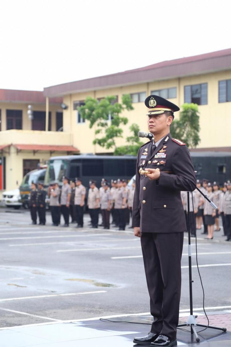 Kapolrestabes Medan Pimpin Upacara Peringatan Hari Sumpah Pemuda