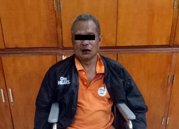 Sarjoni Pelaku Cabul Yang Bacok Polisi di Marindal Akhirnya Ditangkap Polrestabes Medan