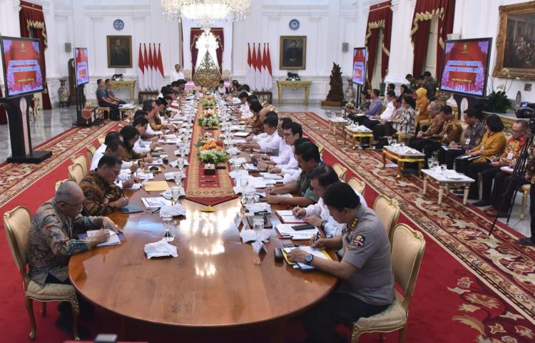 Presiden Jokowi: Goal Besar Setiap Pekerjaan Pemerintah Adalah Ciptakan Lapangan Kerja