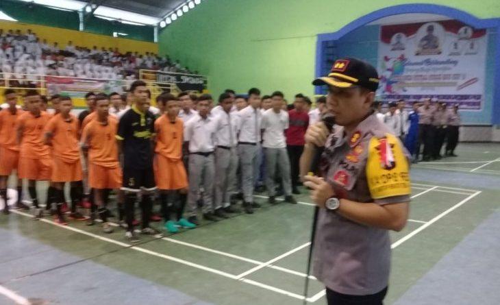 Kapolres Binjai Gelar Turnamen Futsal Cup 2019