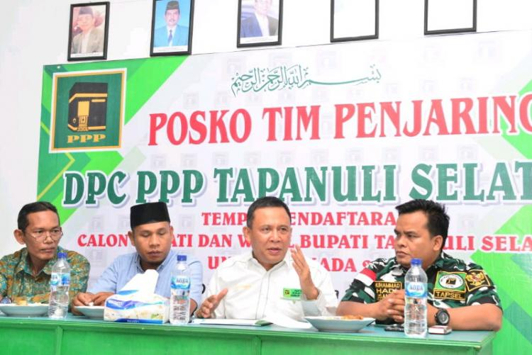 DPC PPP Buka Penjaringan Calon Bupati dan Wakil Bupati Tapsel