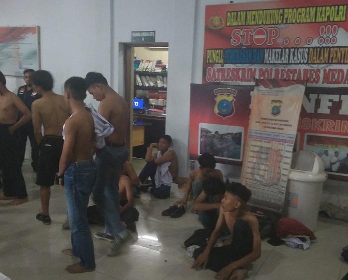 Hendak Ikut Berdemo, 17 Pelajar Ini Kembali Diamankan Polrestabes Medan