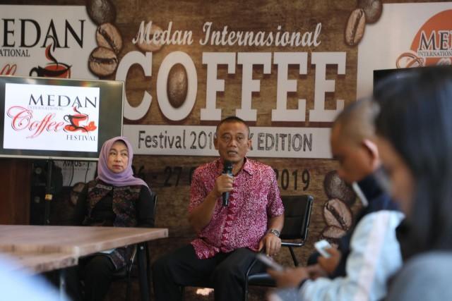 Medan International Coffee Fest 2019, Pemko Harapkan Wisatawan Cicipi Sensasi Kopi di Medan