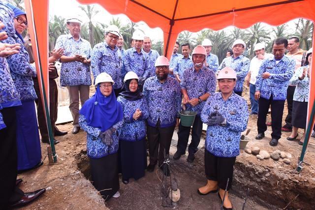 USU Mulai Lakukan Pembangunan Gedung Fakultas Kehutanan di Kwala Bekala Deli Serdang
