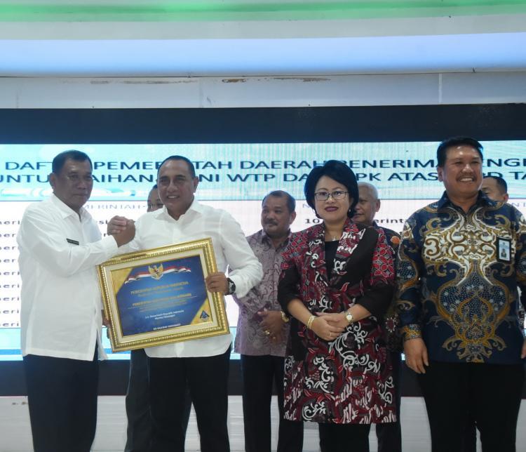 Kabupaten Deli Serdang Raih Penghargaan dari Kementerian Keuangan