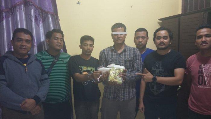 ASN Labusel Pesta Narkoba di Hotel, Polsek Torgamba Amankan 1 Kilo Sabu di Halaman Rumah
