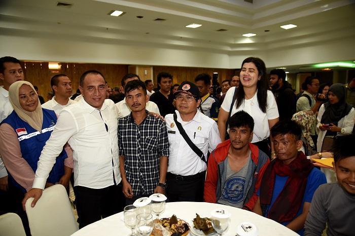 Gubernur Sumut Cepat Tangani Pengungsi Wamena, Ketua Karang Taruna Sumut Berikan Apresiasi