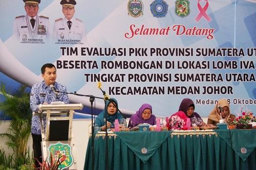 Lomba IVA Test Provinsi Sumut 2019, Kecamatan Medan Johor Masuk Tiga Besar