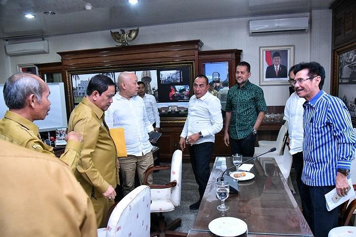 Gubernur Sumut Segera Bentuk Tim untuk Benahi PRSU
