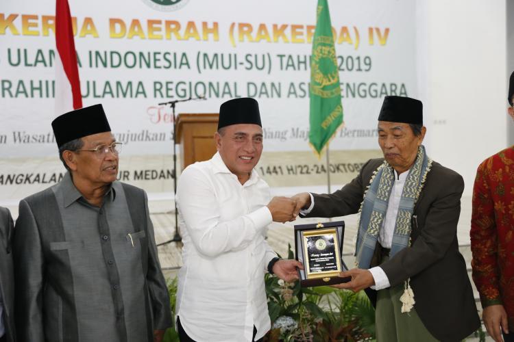 MUI Sumut Terbaik Seluruh Indonesia, Gubernur Sebut MUI adalah Payung Umat