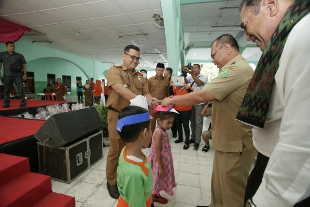 1.145 Anak Ikuti Kegiatan Bulan Kreasi Anak VI di Kecamatan Medan Tuntungan