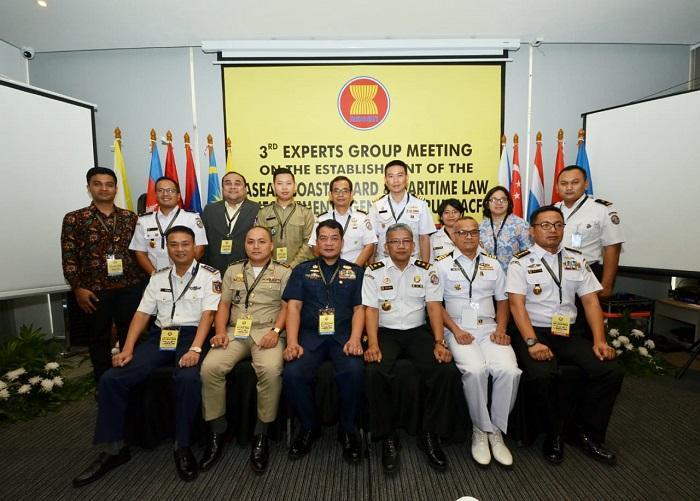 15 Delegasi Coast Guard dari 5 Negara ASEAN Ikuti EGM On ACF di Jakarta