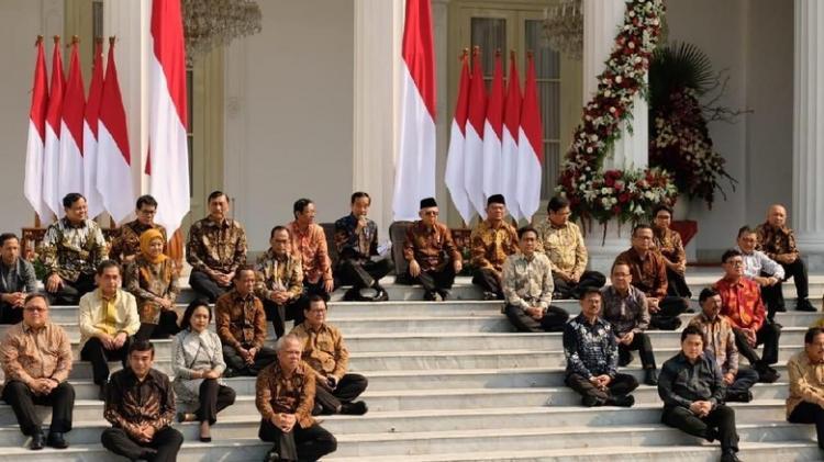 Inilah Susunan Kabinet Indonesia Maju, Prabowo Jadi Menhan