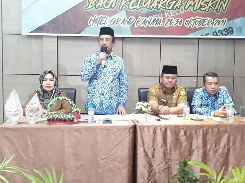 Keluarga Miskin Ikuti Kelas Keterampilan Berusaha dari Dinsos Pemko Medan