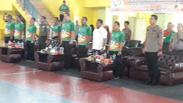 Saksikan Kejuaraan Gulat Senior Piala Gubernur, Kapolsek Percut Seituan Dukung Kegiatan Olahraga