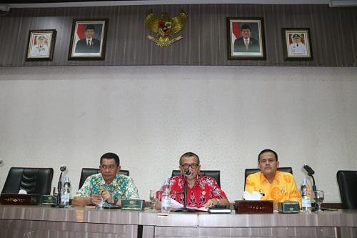 Renward Parapat Pimpin Rapat Pengurus Korpri Pemko Medan