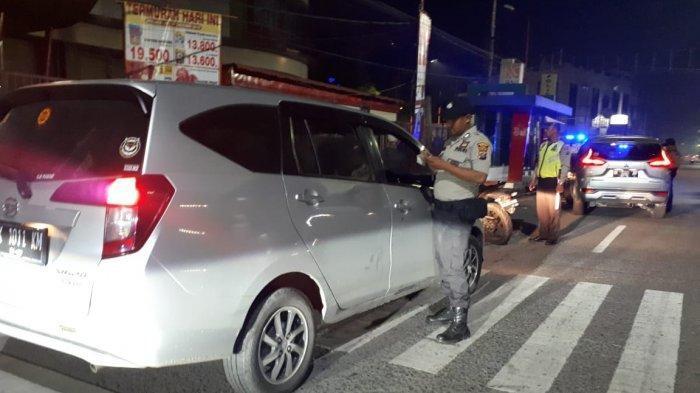Dini Hari, Polsek Medan Kota Razia Kawasan Jalan SM Raja Medan