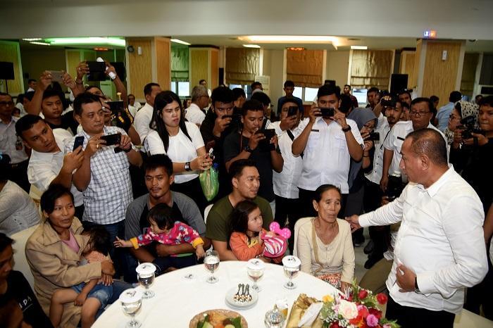Gubernur Sambut Pengungsi Wamena Asal Sumut, Pastikan Keberlanjutan Sekolah dan Penghidupan Keluarga