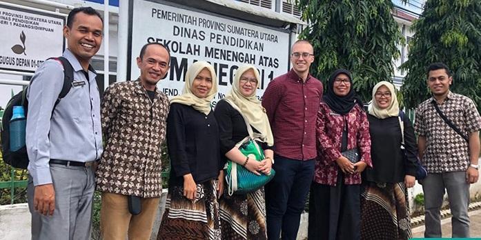 UPT Bahasa Unimed Sosialisasi dan Promosi Produk dan Layanan di Padangsidempuan