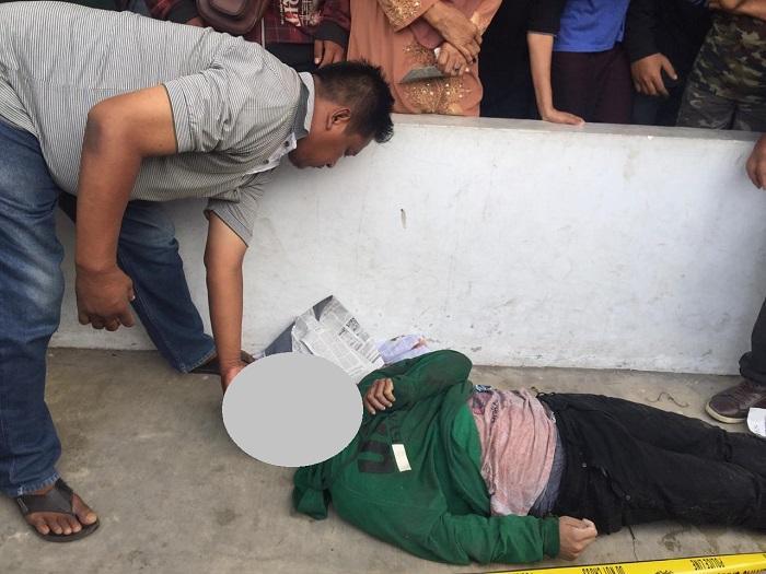 Warga Tembung Geger, Mayat Pria Ditemukan di Parit Gang Pancasila Medan