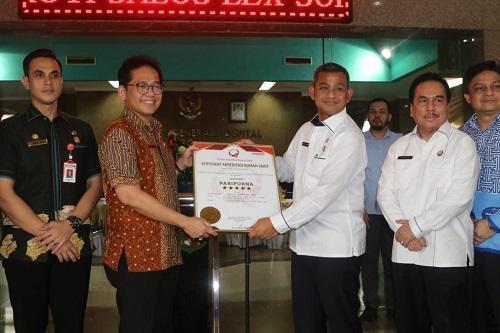 Walikota Medan Apresiasi dan Bangga RSUD Dr Pirngadi Kembali Raih Sertifikasi Akreditasi Paripurna