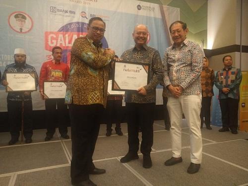 Tiga Kali Berturut, Wali Kota Medan Terima Penghargaan Natamukti