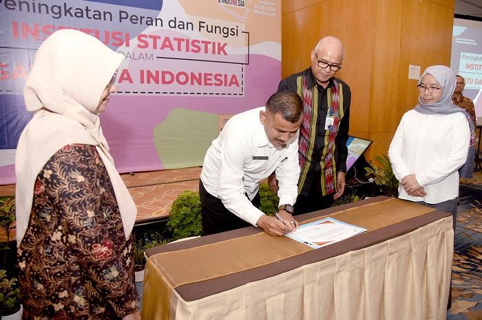 Pemprov Sumut Komitmen Implementasikan Satu Data Indonesia