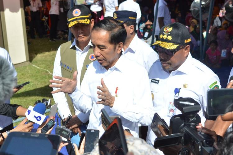 Tiru NTB, Presiden Jokowi Ingin Pembangunan Rumah Korban Gempa Maluku Segera Dilakukan